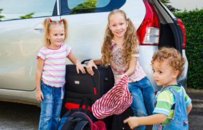 wyjazd z dziećmi
